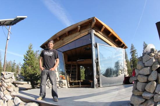 Mike Basich Big Name Tiny House The Truckee Insider